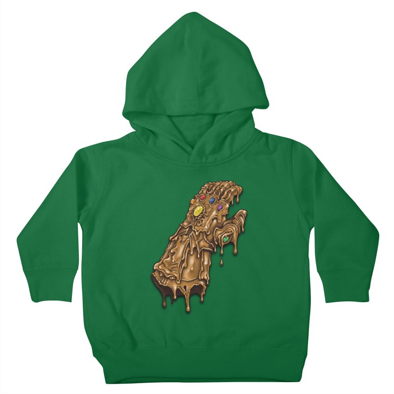 Melted Infinity Gauntlet Kids Toddler Pullover Hoody by c0y0te7's Artist Shop