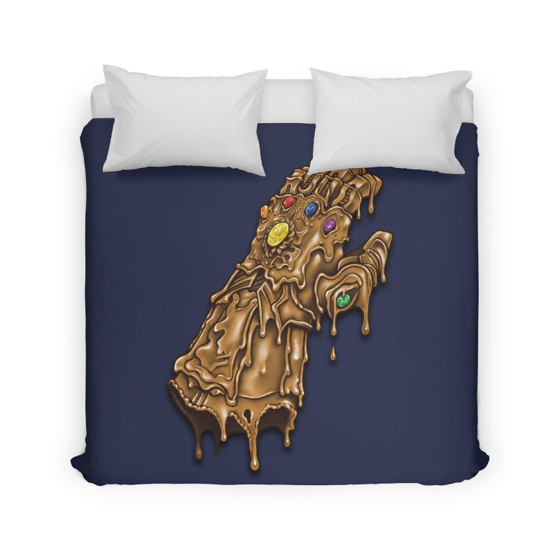 Melted Infinity Gauntlet Home Duvet by c0y0te7's Artist Shop
