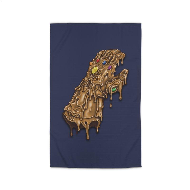 Melted Infinity Gauntlet Home Rug by c0y0te7's Artist Shop