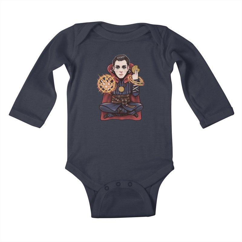 Doctor Stranger Things Kids Baby Longsleeve Bodysuit by c0y0te7's Artist Shop