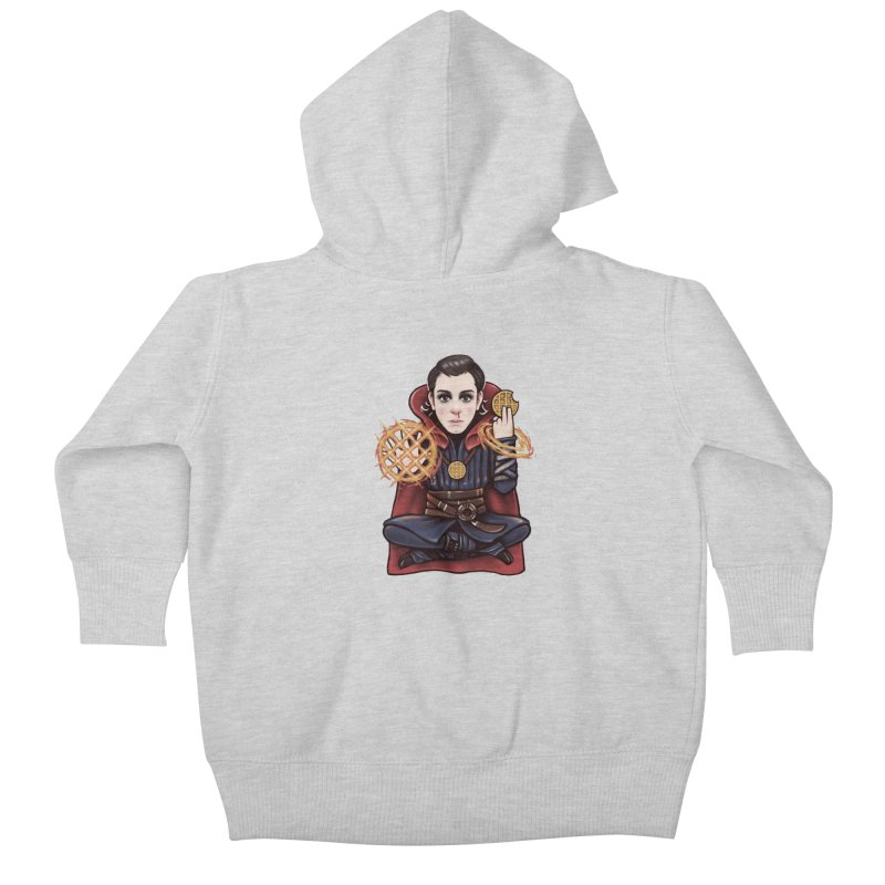 Doctor Stranger Things Kids Baby Zip-Up Hoody by c0y0te7's Artist Shop