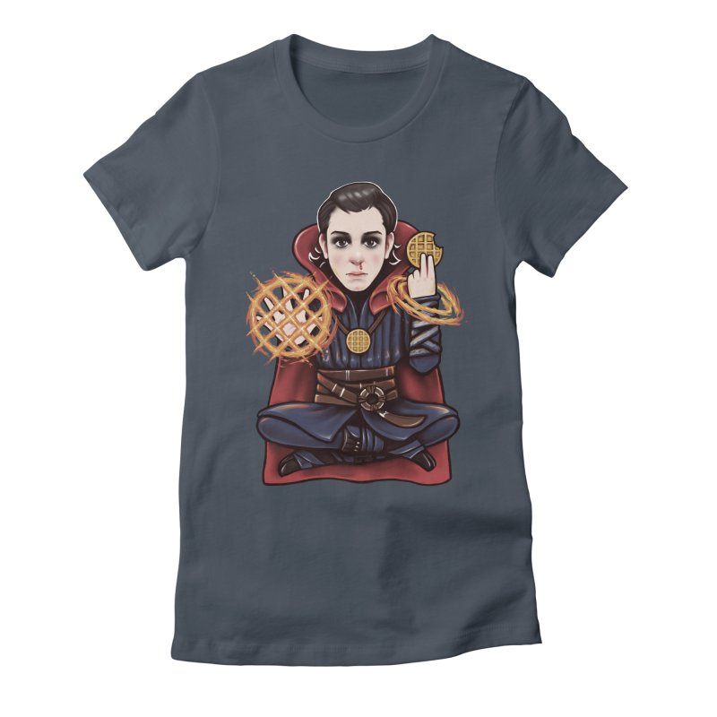 Doctor Stranger Things Women's Fitted T-Shirt by c0y0te7's Artist Shop