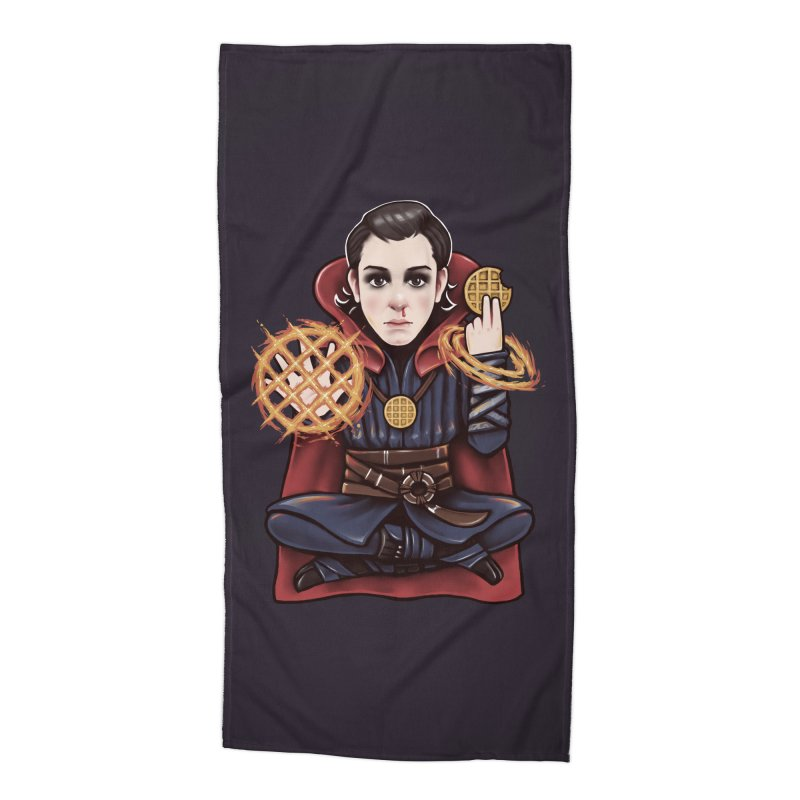 Doctor Stranger Things Accessories Beach Towel by c0y0te7's Artist Shop
