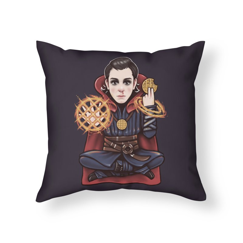 Doctor Stranger Things Home Throw Pillow by c0y0te7's Artist Shop
