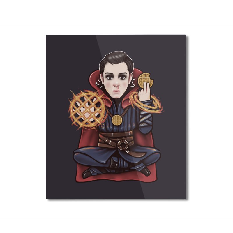 Doctor Stranger Things Home Mounted Aluminum Print by c0y0te7's Artist Shop