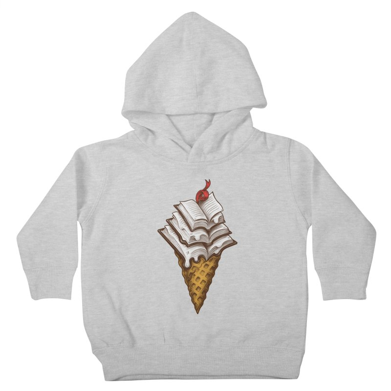 Ice Cream Books Kids Toddler Pullover Hoody by c0y0te7's Artist Shop