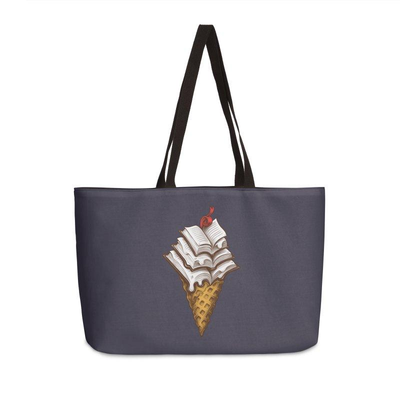 Ice Cream Books Accessories Weekender Bag Bag by c0y0te7's Artist Shop