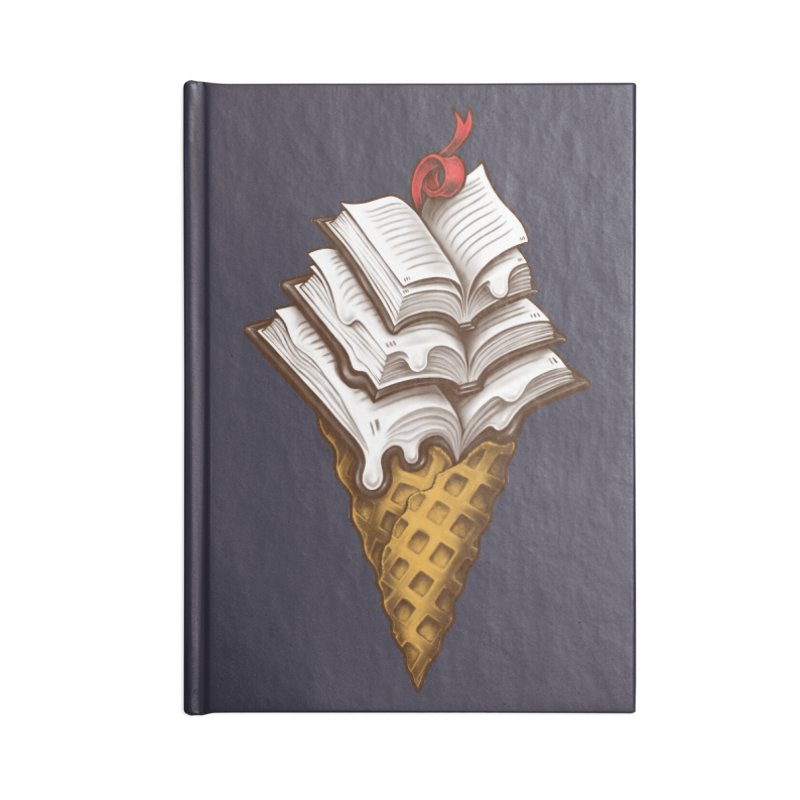 Ice Cream Books Accessories Blank Journal Notebook by c0y0te7's Artist Shop
