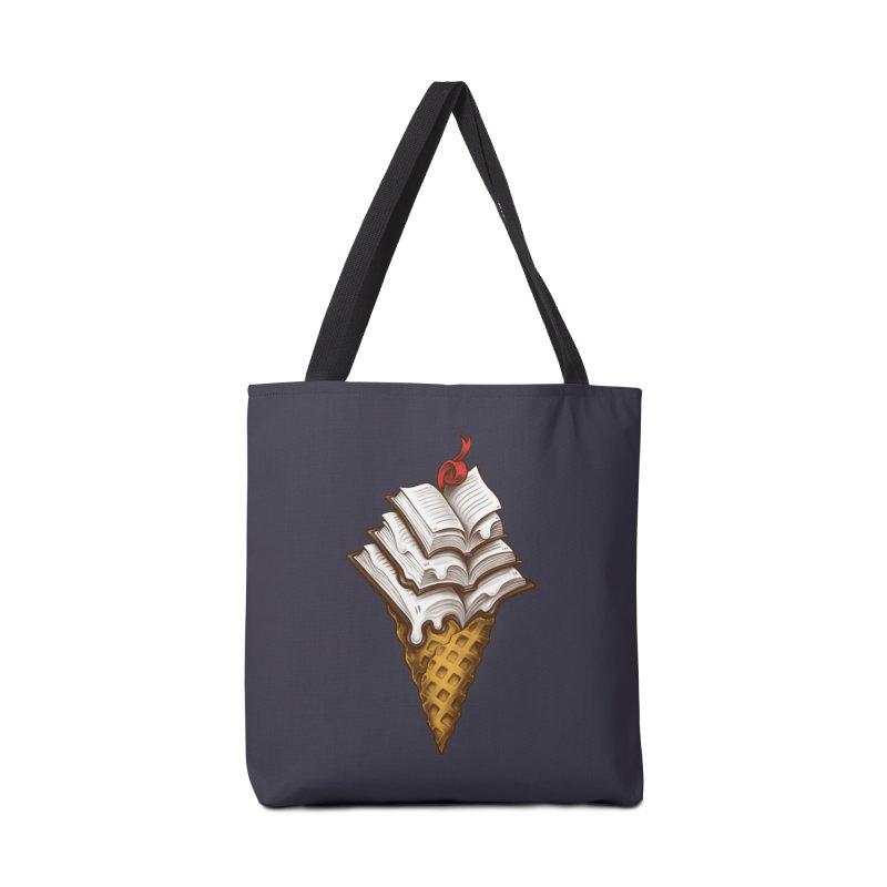 Ice Cream Books Accessories Tote Bag Bag by c0y0te7's Artist Shop