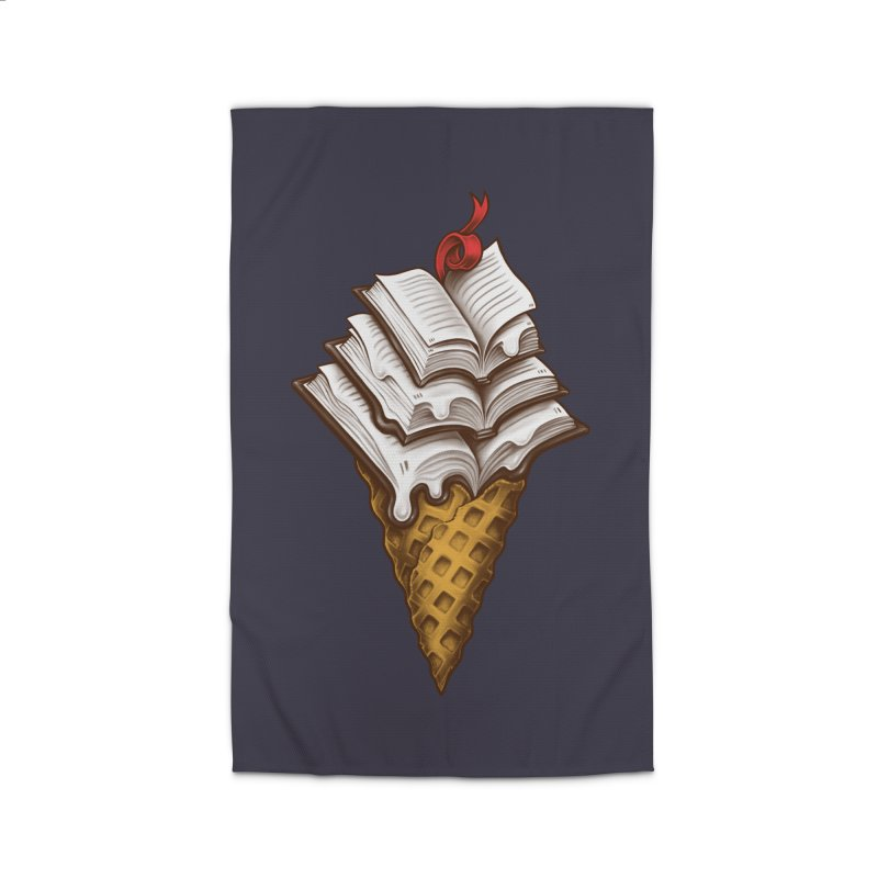 Ice Cream Books Home Rug by c0y0te7's Artist Shop