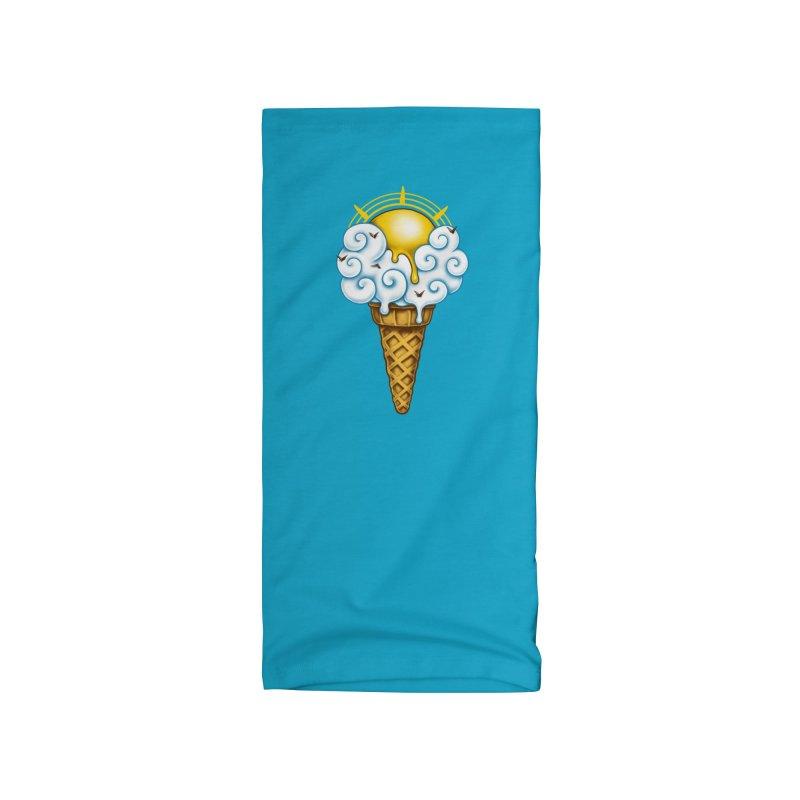 Sunny Ice Cream Accessories Neck Gaiter by c0y0te7's Artist Shop