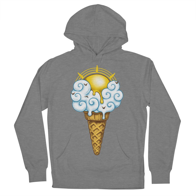 Sunny Ice Cream Women's French Terry Pullover Hoody by c0y0te7's Artist Shop