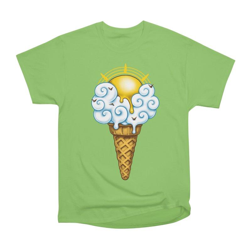 Sunny Ice Cream Women's Heavyweight Unisex T-Shirt by c0y0te7's Artist Shop