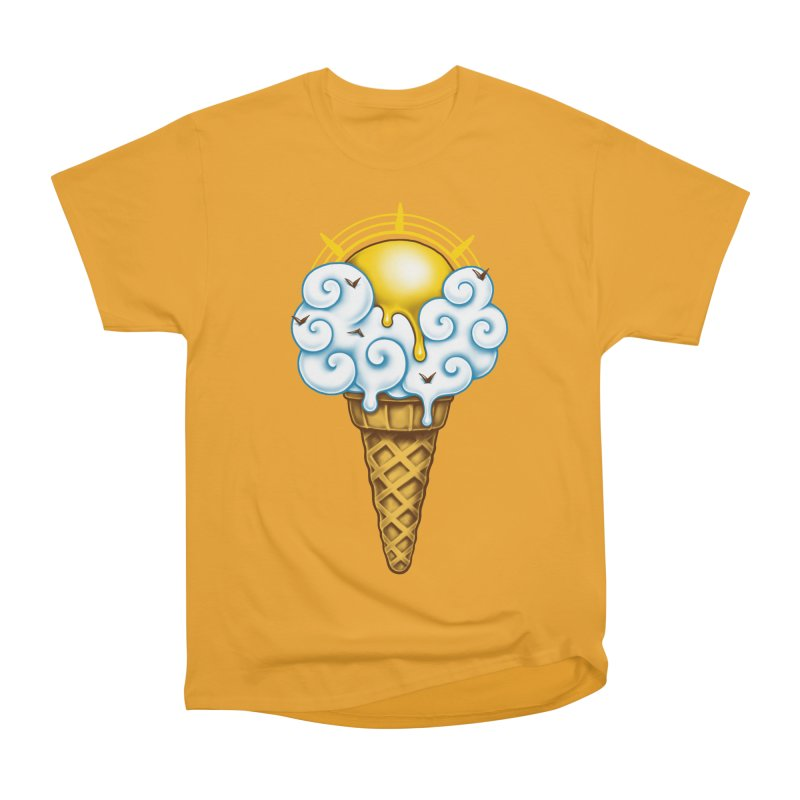 Sunny Ice Cream Men's Heavyweight T-Shirt by c0y0te7's Artist Shop