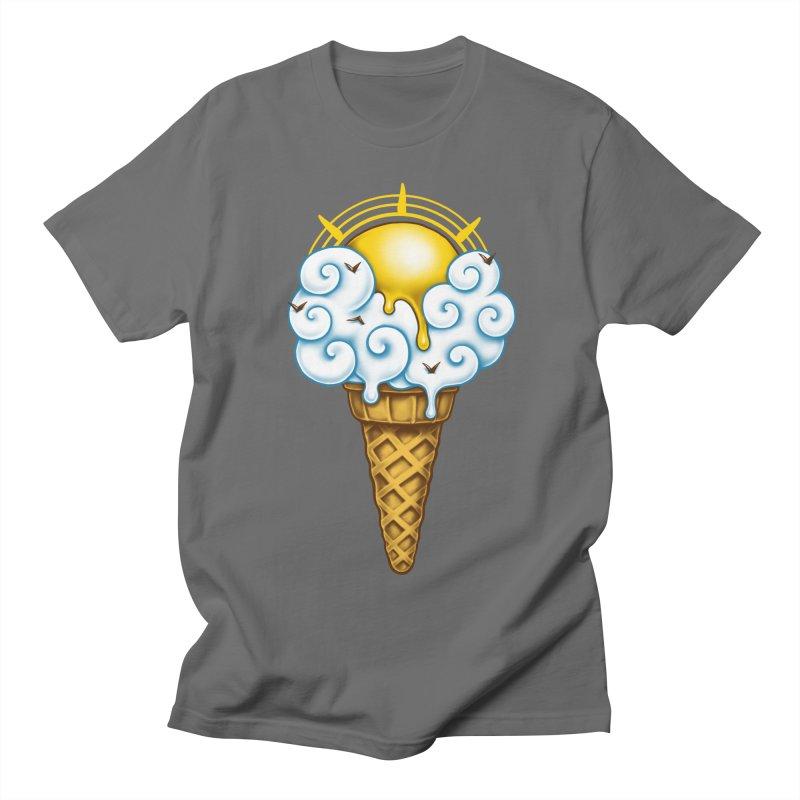 Sunny Ice Cream Men's T-Shirt by c0y0te7's Artist Shop