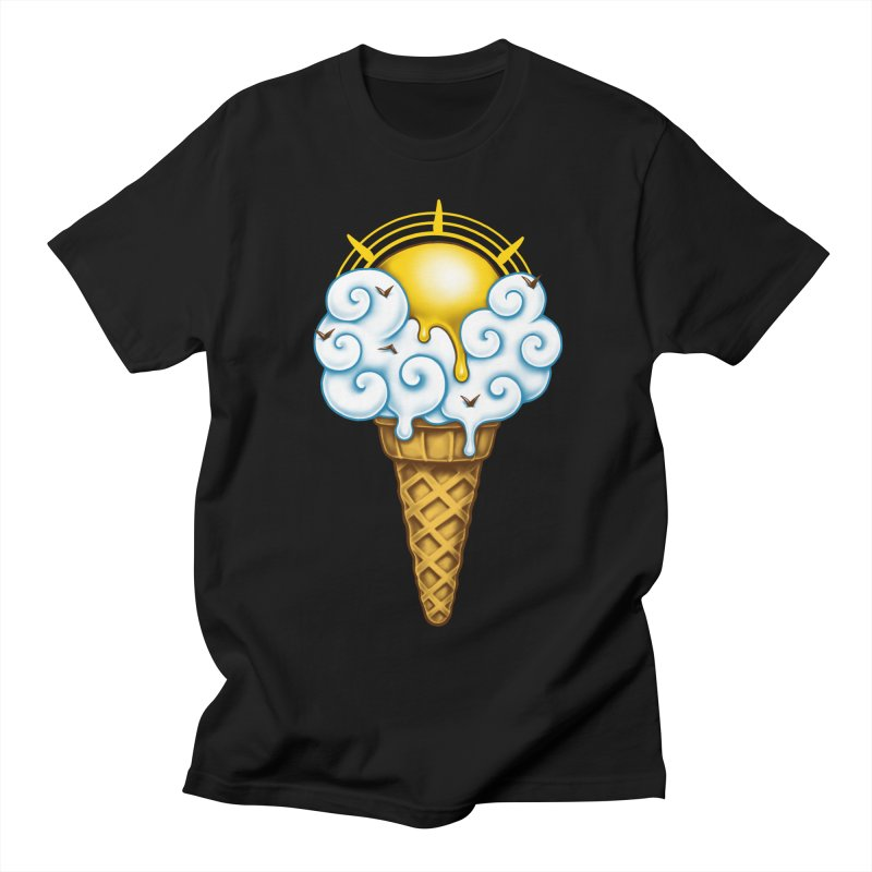 Sunny Ice Cream Women's Regular Unisex T-Shirt by c0y0te7's Artist Shop