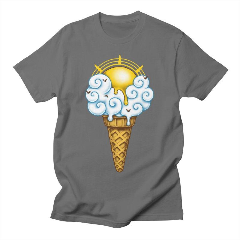 Sunny Ice Cream Women's T-Shirt by c0y0te7's Artist Shop