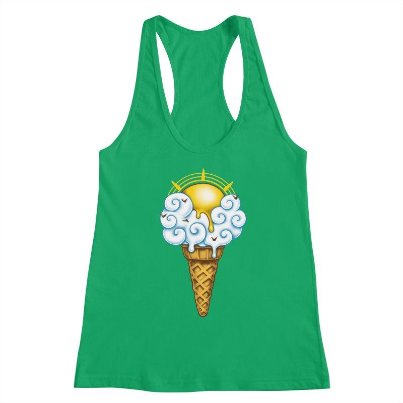 Sunny Ice Cream Women's Tank by c0y0te7's Artist Shop