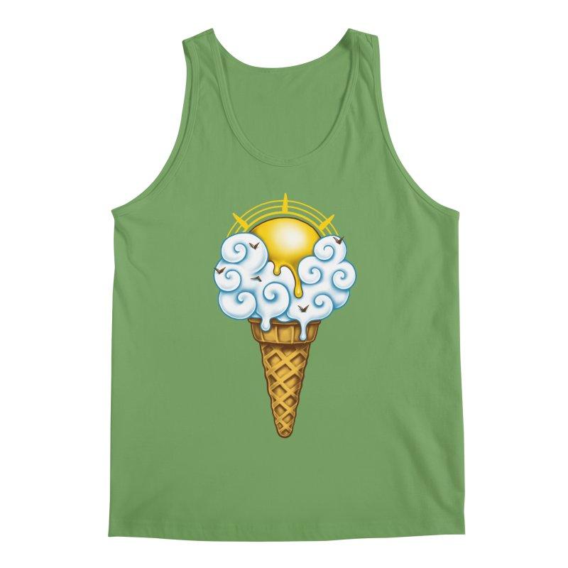 Sunny Ice Cream Men's Tank by c0y0te7's Artist Shop