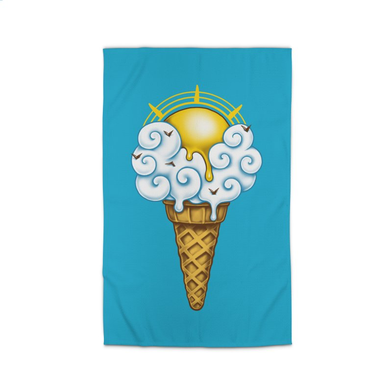 Sunny Ice Cream Home Rug by c0y0te7's Artist Shop