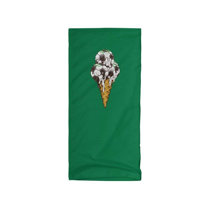 Ice Cream Soccer Balls Accessories Neck Gaiter by c0y0te7's Artist Shop