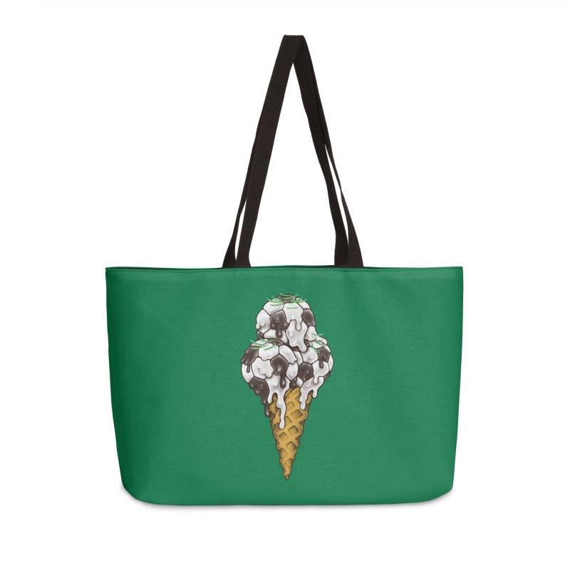 Ice Cream Soccer Balls Accessories Weekender Bag Bag by c0y0te7's Artist Shop