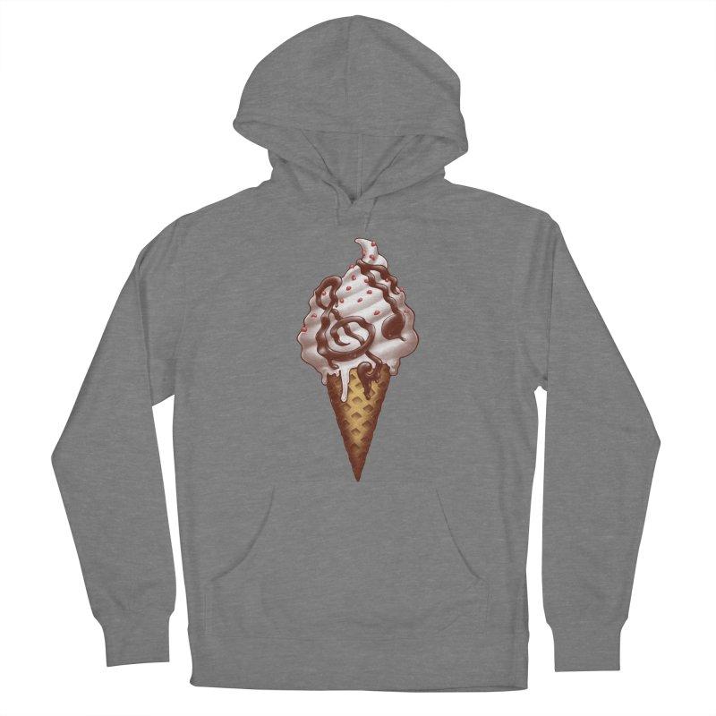 Ice Cream Music Note Women's Pullover Hoody by c0y0te7's Artist Shop