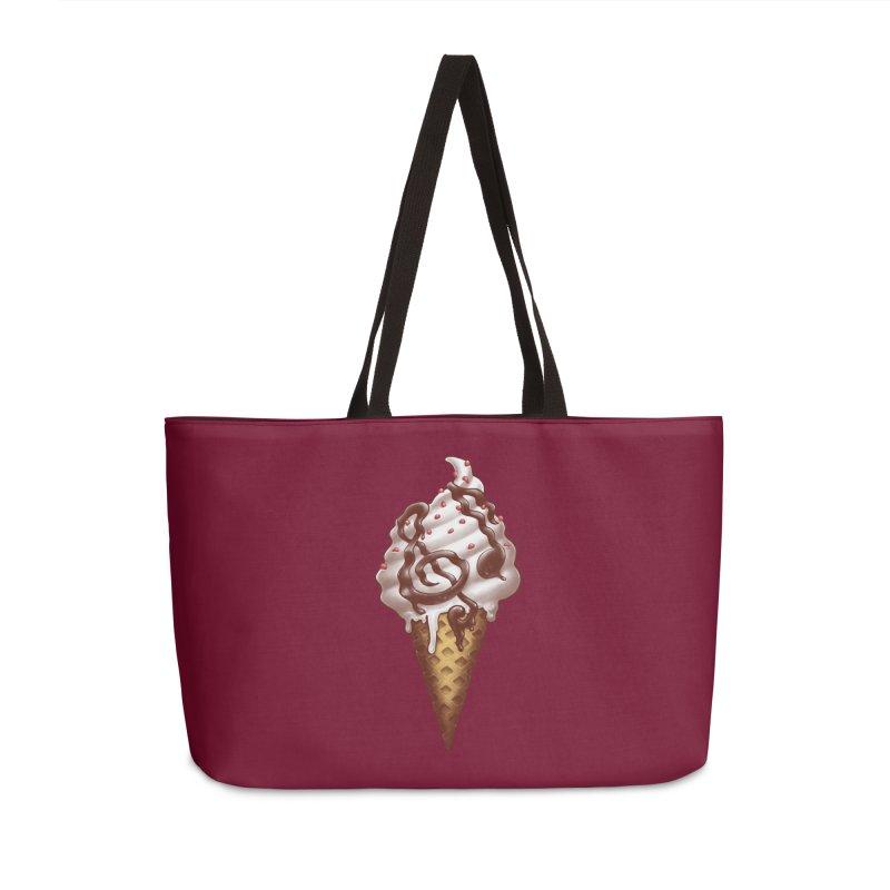 Ice Cream Music Note Accessories Weekender Bag Bag by c0y0te7's Artist Shop
