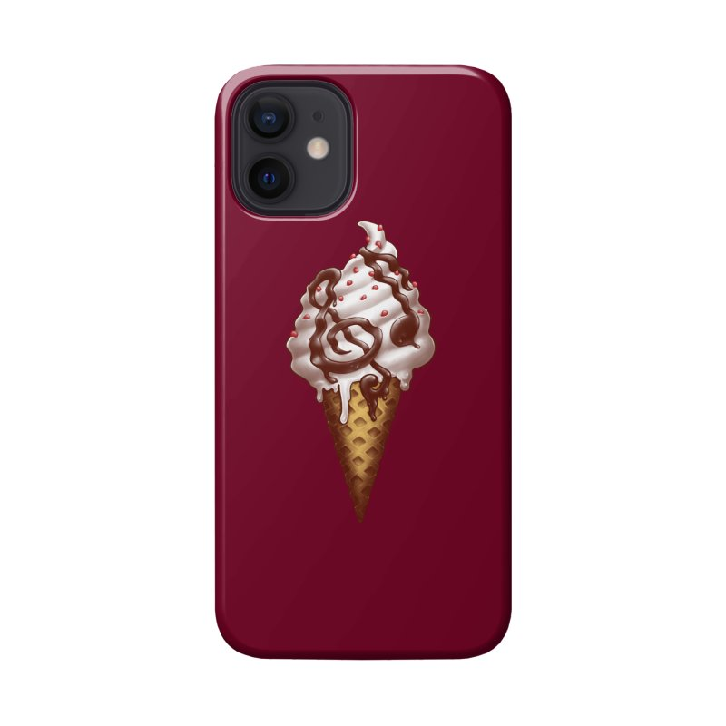 Ice Cream Music Note Accessories Phone Case by c0y0te7's Artist Shop