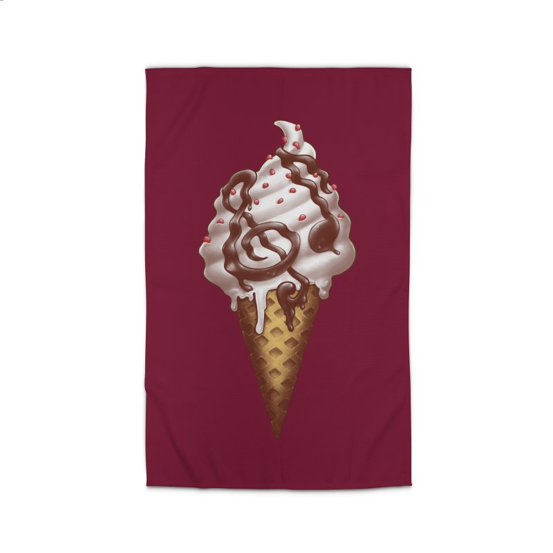 Ice Cream Music Note Home Rug by c0y0te7's Artist Shop