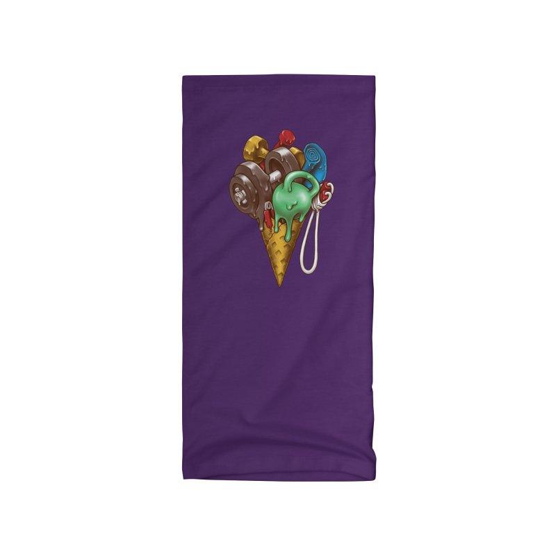 Ice Cream Workout Accessories Neck Gaiter by c0y0te7's Artist Shop