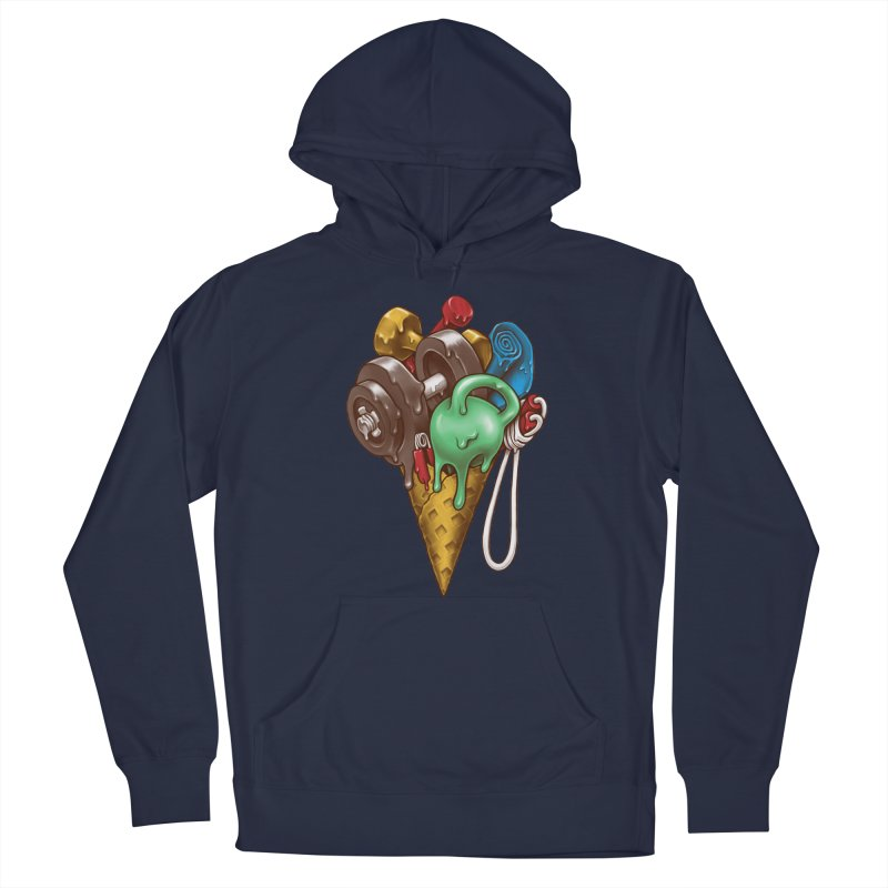 Ice Cream Workout Men's Pullover Hoody by c0y0te7's Artist Shop