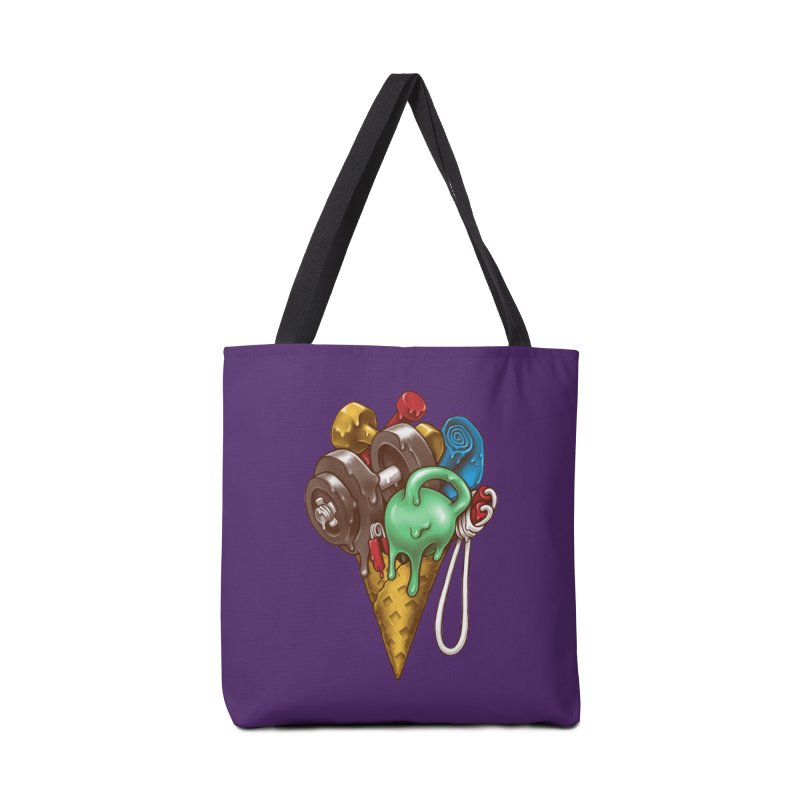 Ice Cream Workout Accessories Tote Bag Bag by c0y0te7's Artist Shop