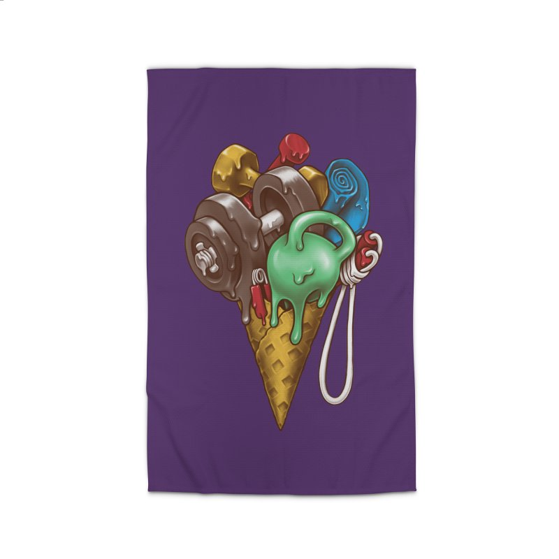 Ice Cream Workout Home Rug by c0y0te7's Artist Shop