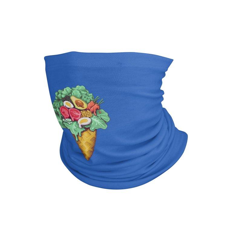 Ice Cream Salad Accessories Neck Gaiter by c0y0te7's Artist Shop