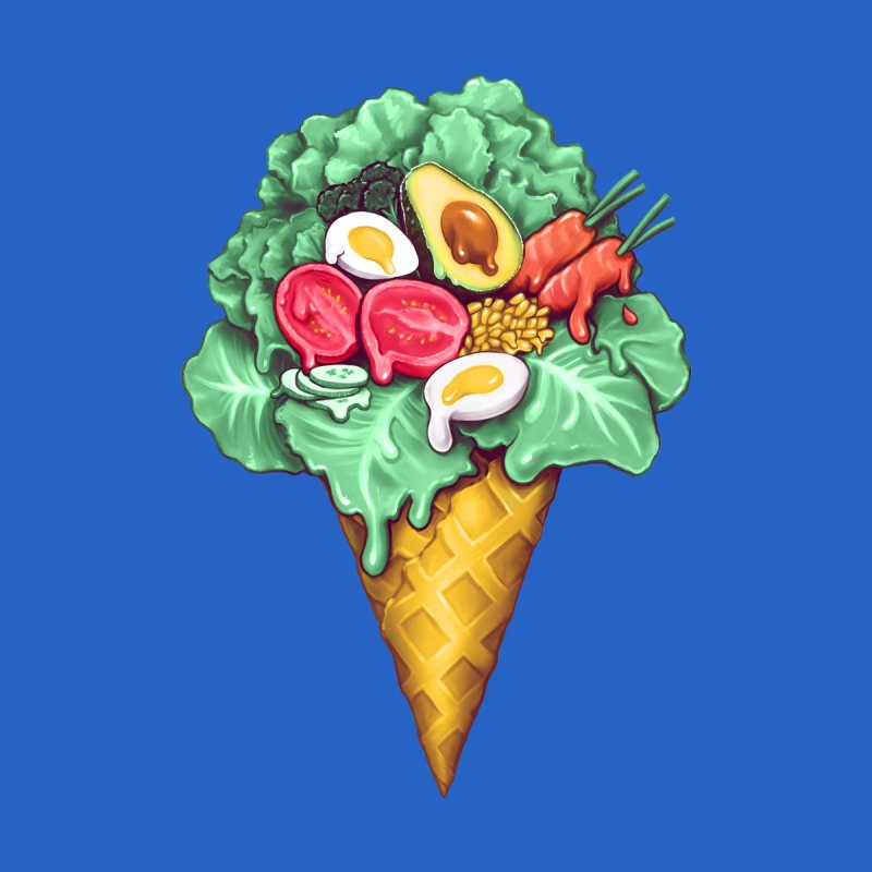 Ice Cream Salad by c0y0te7's Artist Shop