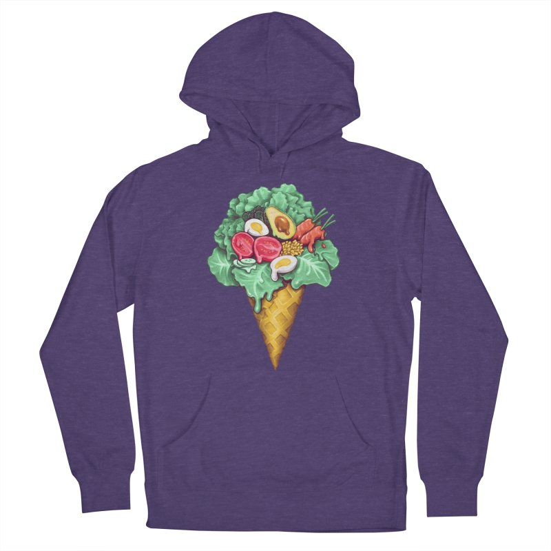Ice Cream Salad Men's Pullover Hoody by c0y0te7's Artist Shop