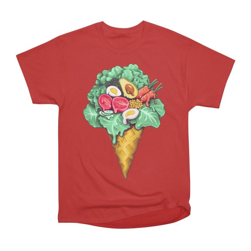 Ice Cream Salad Women's Heavyweight Unisex T-Shirt by c0y0te7's Artist Shop