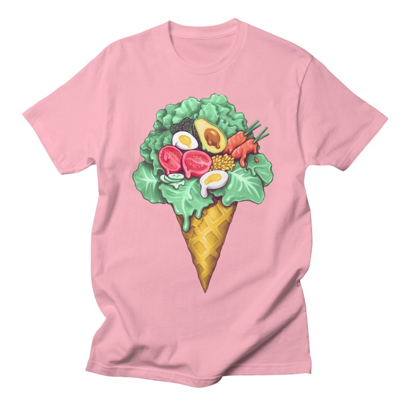 Ice Cream Salad Women's Regular Unisex T-Shirt by c0y0te7's Artist Shop
