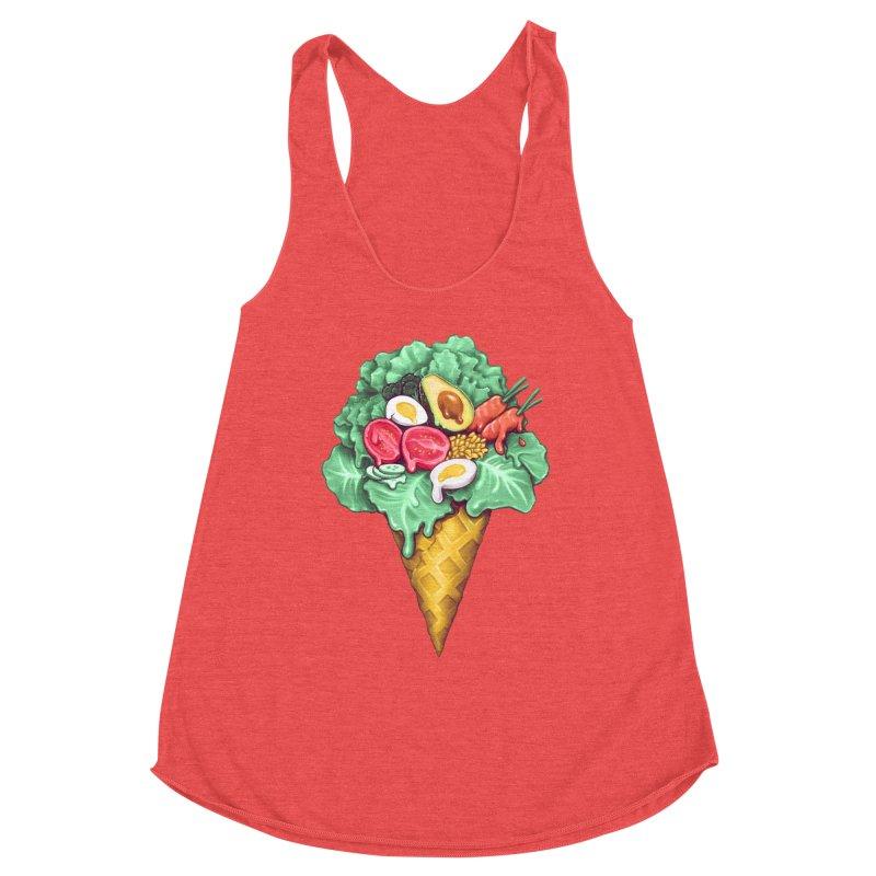 Ice Cream Salad Women's Tank by c0y0te7's Artist Shop