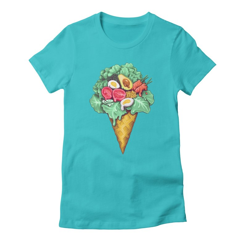 Ice Cream Salad Women's T-Shirt by c0y0te7's Artist Shop