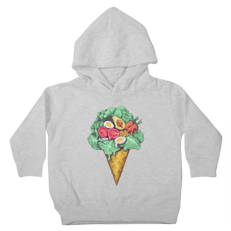 Ice Cream Salad Kids Toddler Pullover Hoody by c0y0te7's Artist Shop