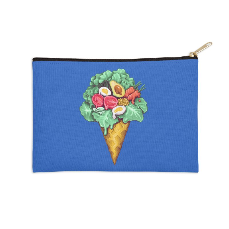 Ice Cream Salad Accessories Zip Pouch by c0y0te7's Artist Shop