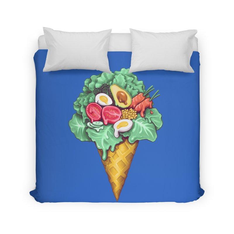 Ice Cream Salad Home Duvet by c0y0te7's Artist Shop