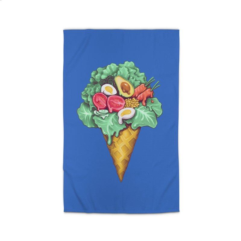Ice Cream Salad Home Rug by c0y0te7's Artist Shop