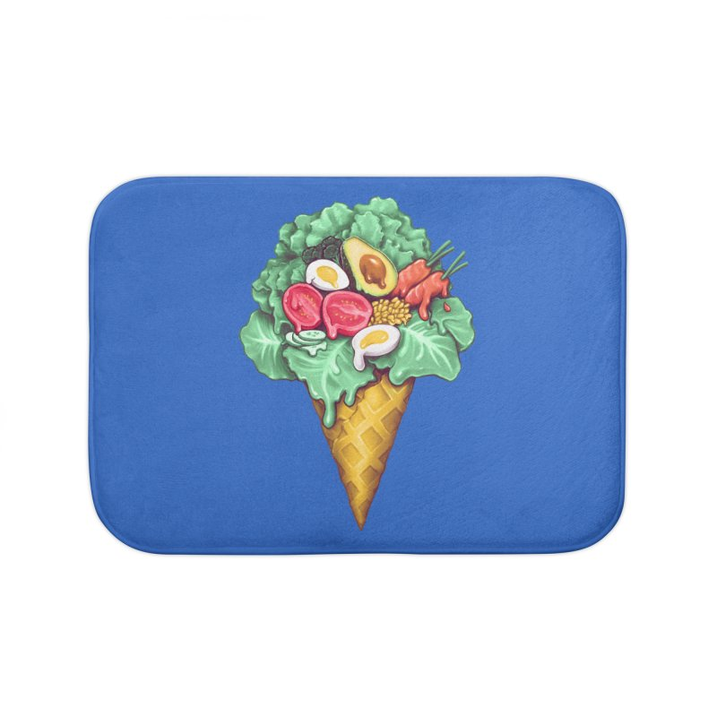 Ice Cream Salad Home Bath Mat by c0y0te7's Artist Shop