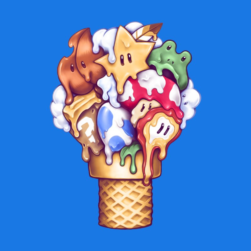 Ice Cream Power Up by c0y0te7's Artist Shop