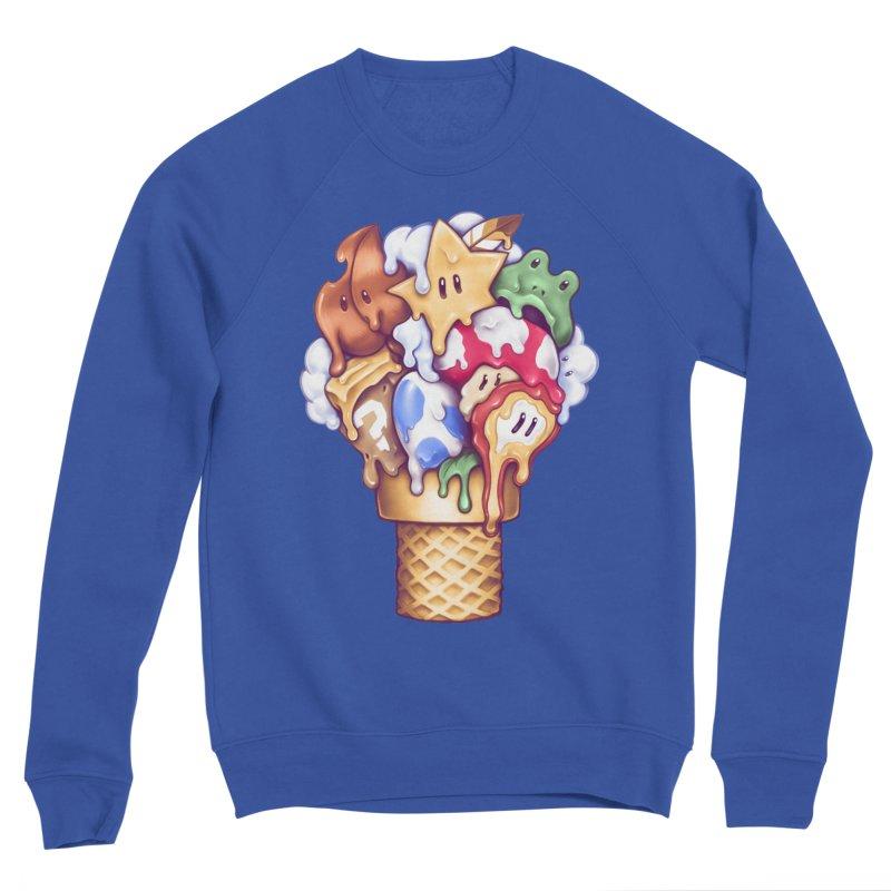 Ice Cream Power Up Women's Sweatshirt by c0y0te7's Artist Shop