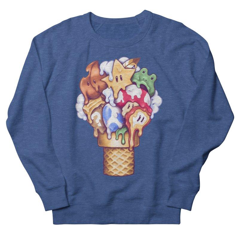 Ice Cream Power Up Men's Sweatshirt by c0y0te7's Artist Shop
