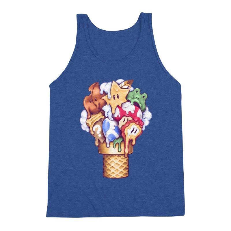 Ice Cream Power Up Men's Tank by c0y0te7's Artist Shop